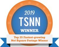 2019 TSNN Fastest Growing Square Footage Winner