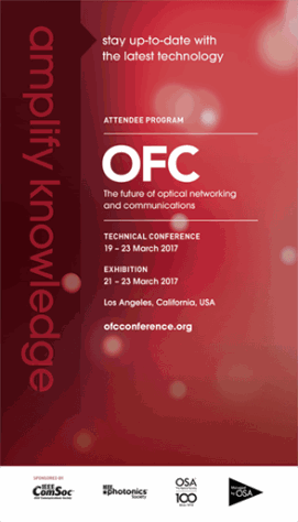 OFC Technical Conference Brochure cover